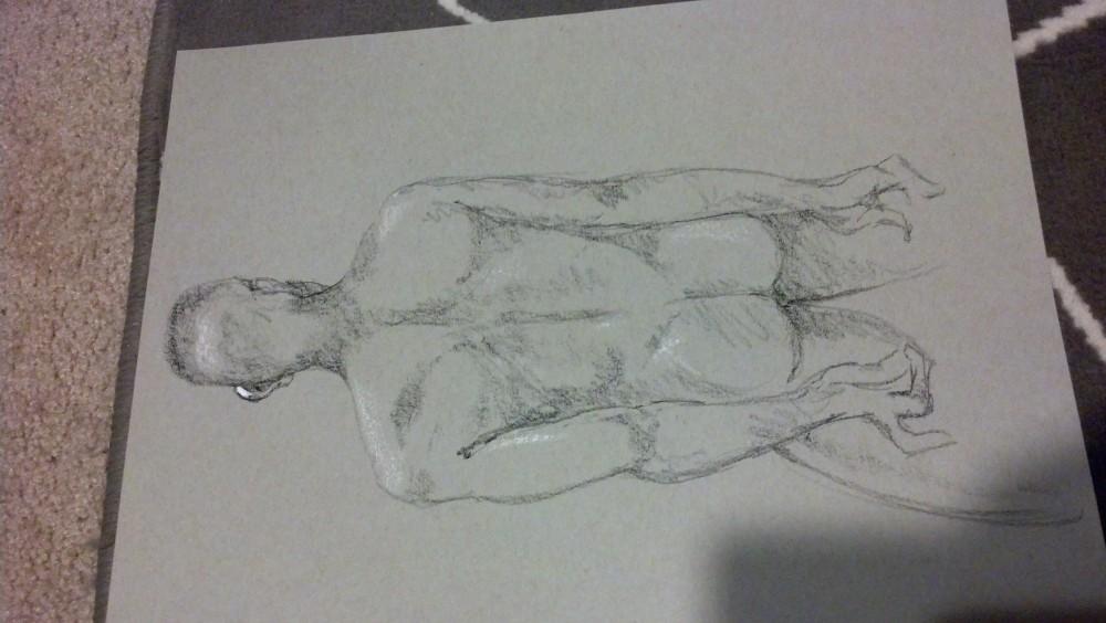 Art. Sex. Vitruvian Drawing Group. 12.13.13. A-Rod (4/4)