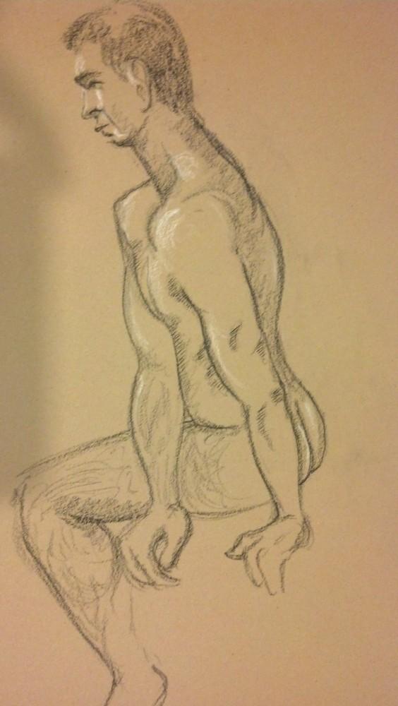 Art. NDG. Vitruvian Gallery. 01-07-14. Jay (2/6)