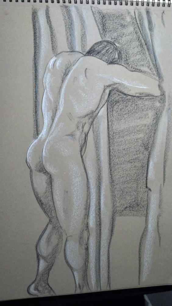 Art. Sex. Vitruvian Drawing Group. Bryan. 4.3.14 (1/4)