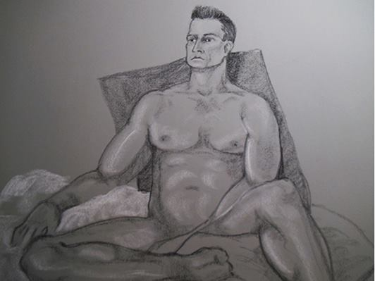 Sex. Art. The Drawing Room at Dry Creek. James (again.)  August 22, 2014