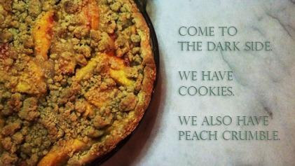 Peach-Crumble